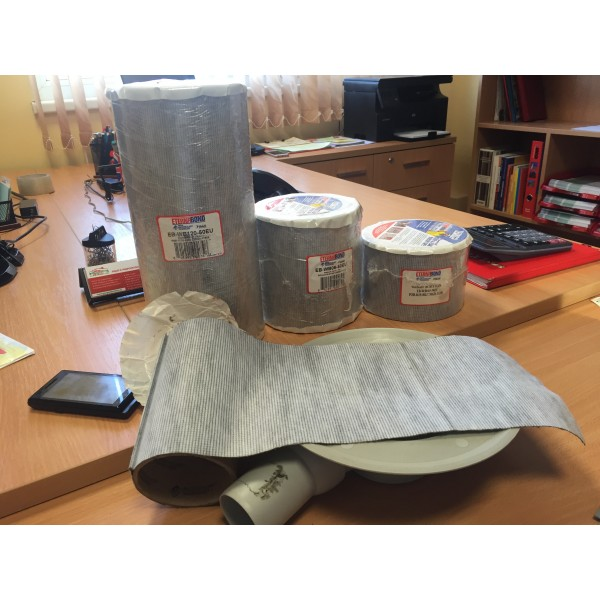 Самозалепваща пола за хидроизолация с текстилен гръб EternaBond WebSeal, 305mm х 305mm