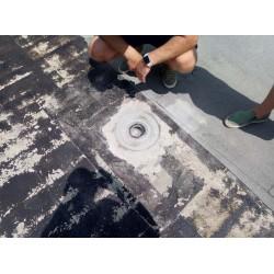 WebSeal-надеждната лента за изолация на отводнителните елементи на тераса или покрив